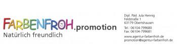 FARBENFROH - Agentur für Kinderevents und Promotion