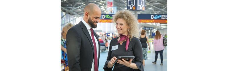 Überflieger am Flughafen Düsseldorf gesucht - Sales Promotion