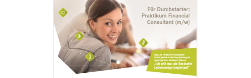 Für Durchstarter: Praktikum Financial Consultant m/w - in Hannover