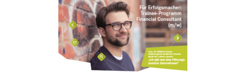 Für Erfolgsmacher: Trainee-Programm Financial Consultant m/w - in Hannover