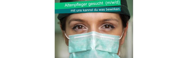 Gesundheits- und Krankenpfleger (helfer), ex. Altenpfleger/in, Pflegefachkraft, Pflegehilfskraft, Schwesternhelfer/in (m/w/d)
