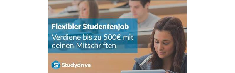 Werde Kursexperte m/w an der Uni Frankfurt
