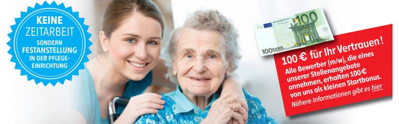 Pflegefachkraft / Altenpfleger m/w TOP Gehalt in Festanstellung